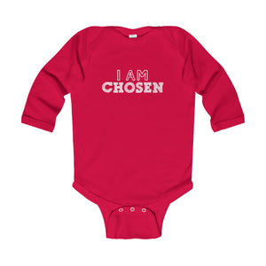 I Am Chosen Infant Longsleeve Body Suit - Shop Love God