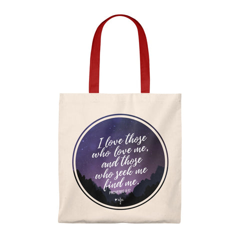 I Love Those Who Love Me Caryall Tote Bag - Shop Love God