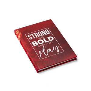 Strong And Bold Hardcover Journal - Ruled - Shop Love God