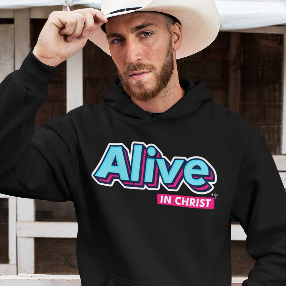 Alive in Christ Unisex Heavy Blend™ Hooded Sweatshirt