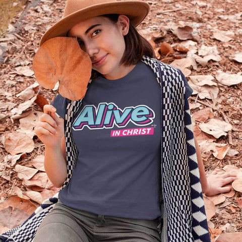 Alive in Christ Unisex Heavy Cotton Tee - Shop Love God
