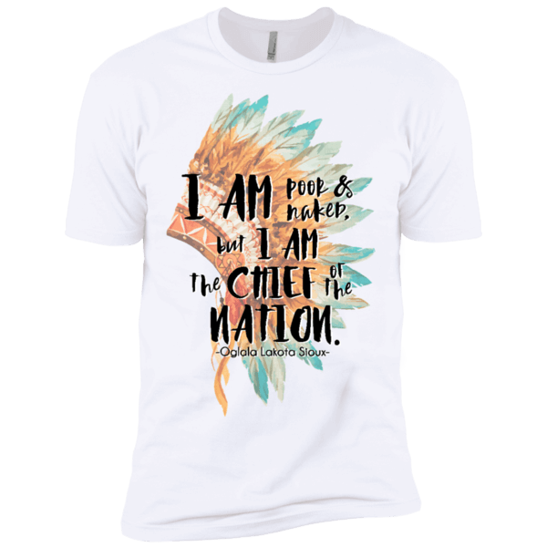 Chief of the Nation Premium Short Sleeve T-Shirt - Shop Love God