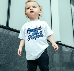 With A Purpose Toddler Premium T-Shirt - Shop Love God