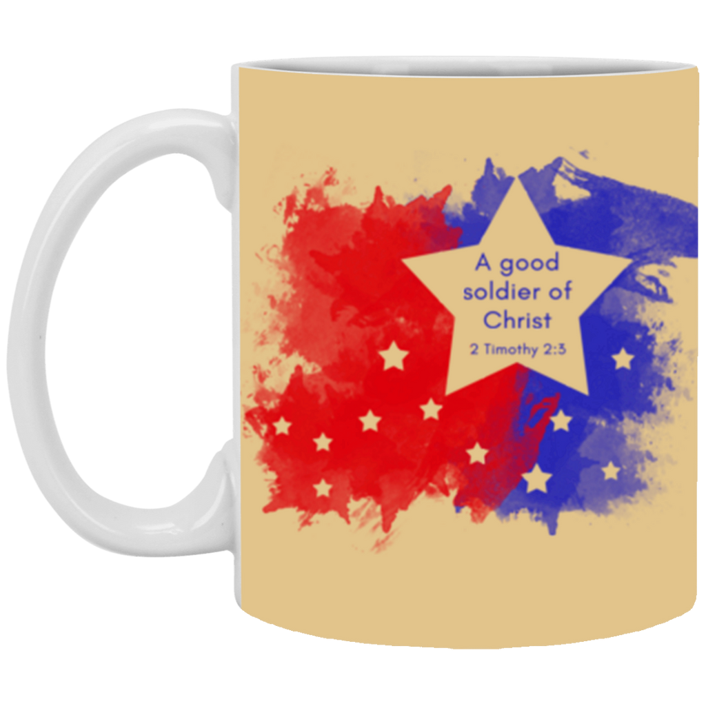 A Good Soldier of Christ 11 oz. Mug - Shop Love God