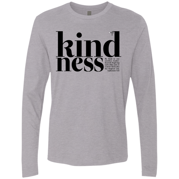 Kindness Men's Premium Long Sleeve - Shop Love God