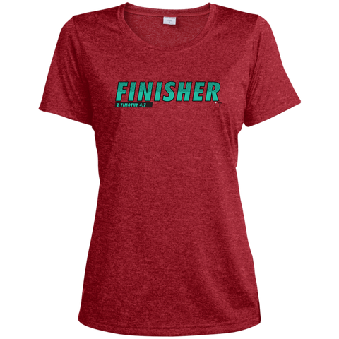 Finisher Ladies' Heather Dri-Fit Moisture-Wicking T-Shirt - Shop Love God