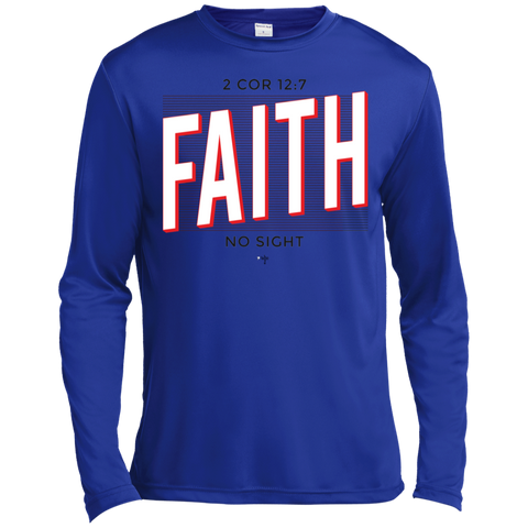 Faith No Sight Moisture Absorbing Long Sleeves - Shop Love God