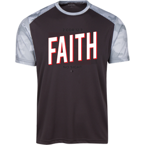 Faith No Sight CamoHex Colorblock T-Shirt - Shop Love God