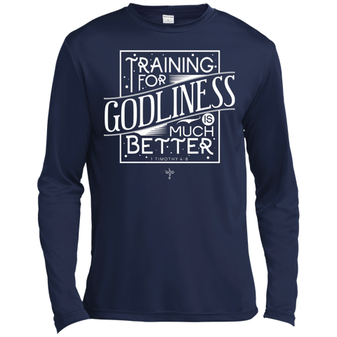 Training for Godliness Moisture Absorbing Long Sleeves