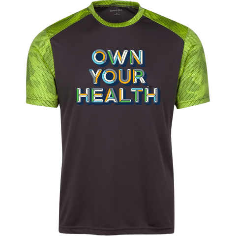Own Your Health II CamoHex Colorblock T-Shirt