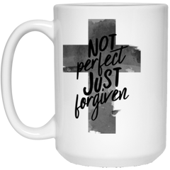 Forgiven White Mug - Shop Love God