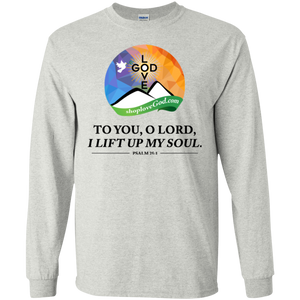I Lift Up My Soul Ultra Cotton Long Sleeves - Shop Love God