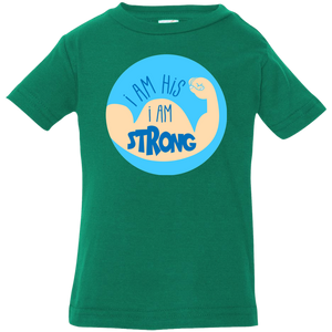 I Am His Infant Jersey T-Shirt - Shop Love God