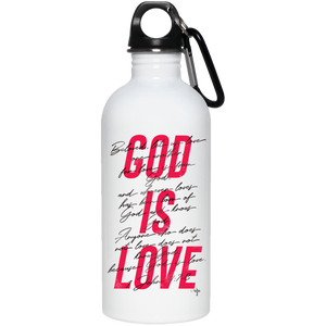 God is Love 20 oz. Stainless Steel Water Bottle - Shop Love God