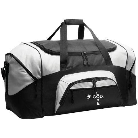 Love God Colorblock Sport Duffel - Shop Love God