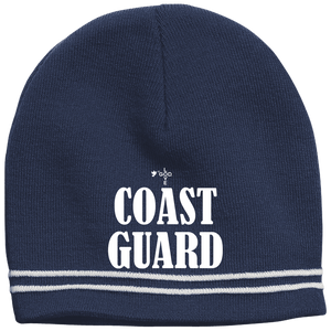 Coast Guard Colorblock Beanie - Shop Love God