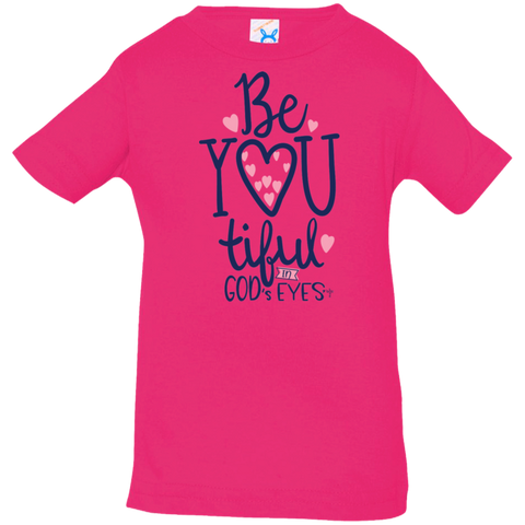 Be-You-Tiful Infant Jersey T-Shirt - Shop Love God