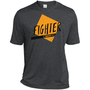 Fighter Heather Dri-Fit Moisture-Wicking T-Shirt - Shop Love God