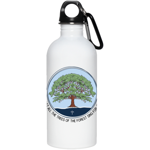Sing For Joy 20 oz. Stainless Steel Water Bottle