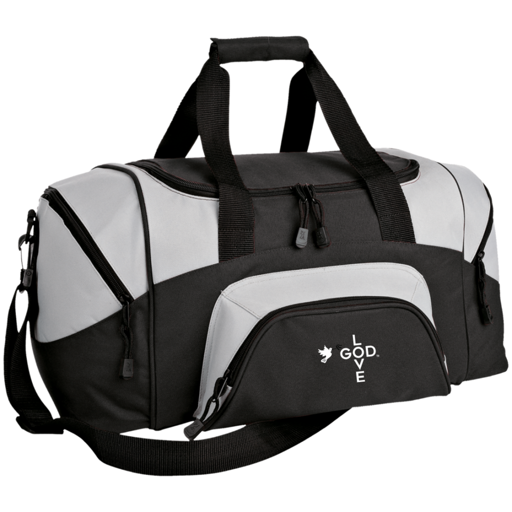 Love God Small Colorblock Sport Duffel Bag - Shop Love God