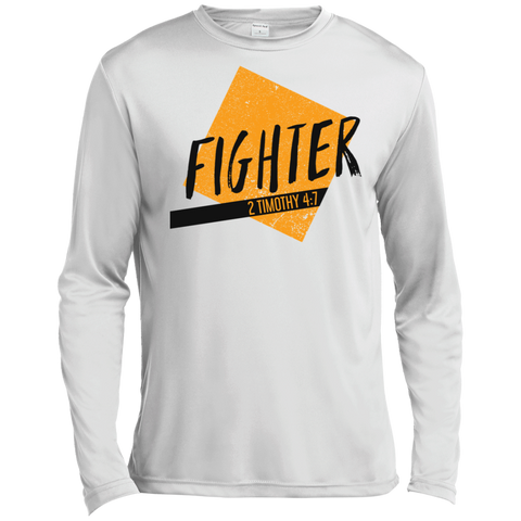 Fighter Tall LS Moisture Absorbing T-Shirt - Shop Love God