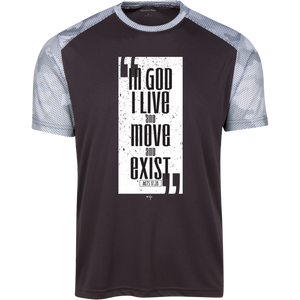 Live Move Exist CamoHex Colorblock T-Shirt