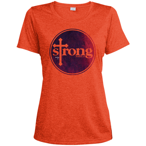 Strong Ladies' Heather Dri-Fit Moisture-Wicking T-Shirt