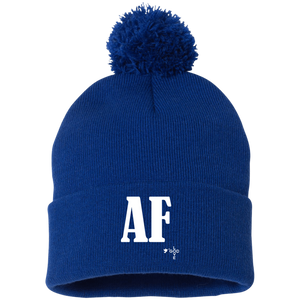 Air Force Sportsman Pom Pom Knit Cap - Shop Love God