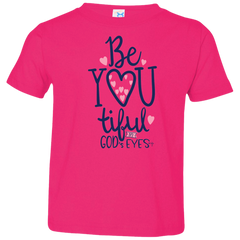 Be-You-Tiful Toddler Jersey T-Shirt - Shop Love God