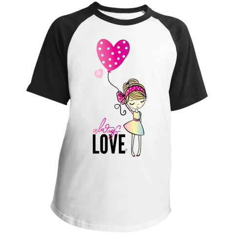 Always Love Youth SS Colorblock Raglan Jersey - Shop Love God