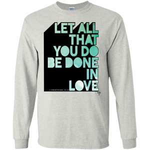 Done In Love LS Ultra Cotton T-Shirt - Shop Love God