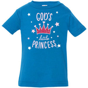 God's Princess Infant Jersey T-Shirt - Shop Love God