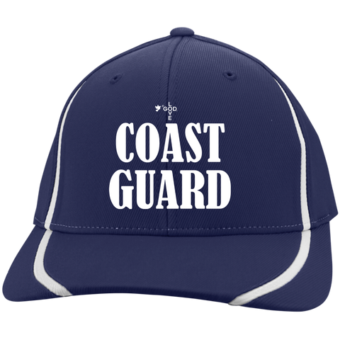 Coast Guard Flexfit Colorblock Cap - Shop Love God