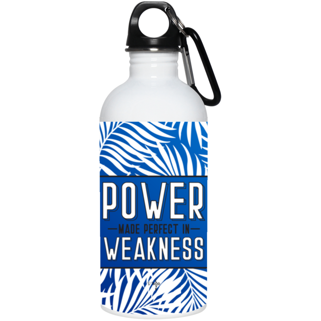 Power Made Perfect 20 oz. Stainless Steel Water Bottle