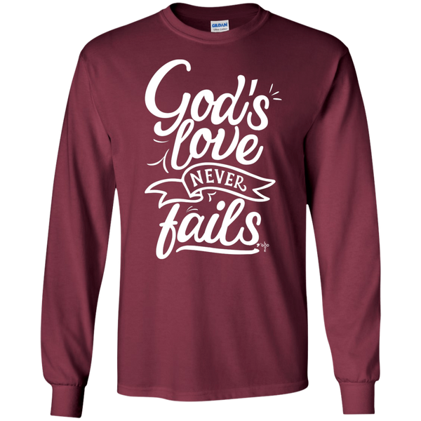 God's Love LS Ultra Cotton T-Shirt - Shop Love God