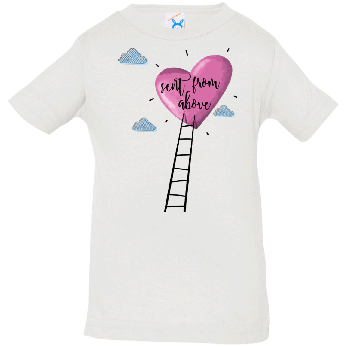 Sent From Above Infant Jersey T-Shirt - Shop Love God