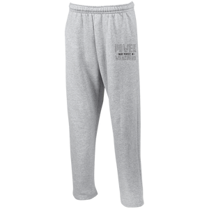 Power Open Bottom Sweatpants with Pockets - Shop Love God