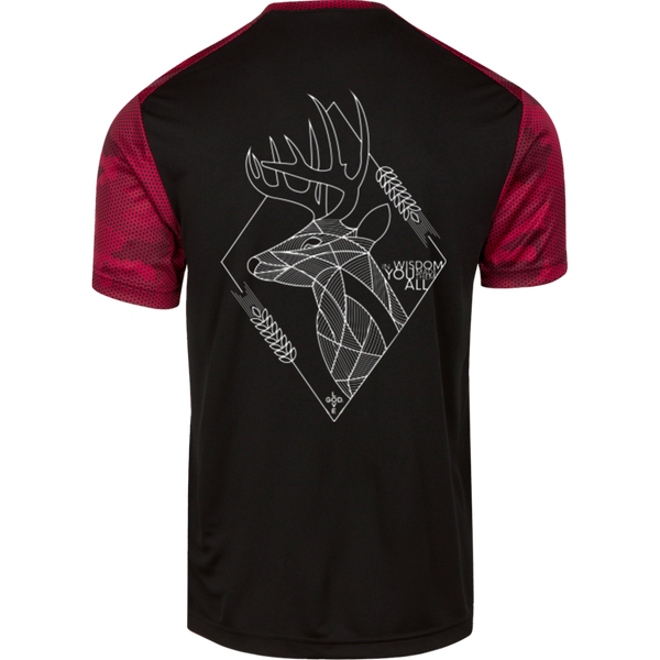 In Wisdom CamoHex Colorblock T-Shirt - Shop Love God