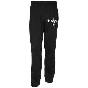 Love God Warm-Up Track Pants - Shop Love God