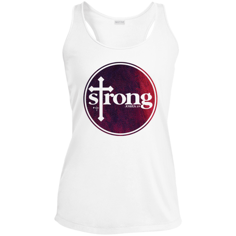Strong Ladies' Racerback Moisture Wicking Tank