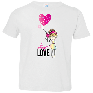 Always Love Toddler Jersey T-Shirt - Shop Love God