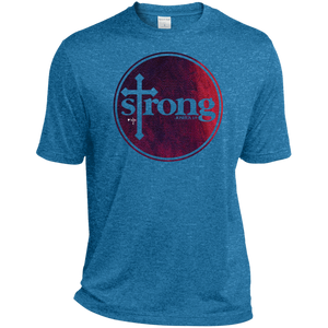 Strong Heather Dri-Fit Moisture-Wicking T-Shirt
