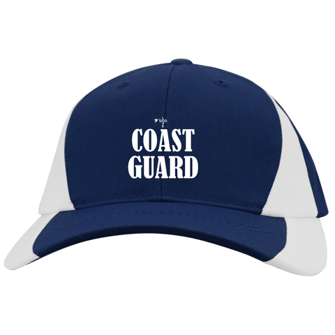 Coast Guard Mid-Profile Colorblock Hat - Shop Love God