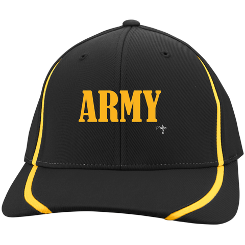 Gold Army Colorblock Cap - Shop Love God
