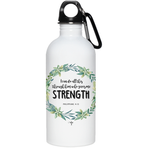 I Can Do All This 20 oz. Stainless Steel Water Bottle