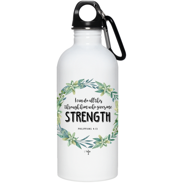 I Can Do All This 20 oz. Stainless Steel Water Bottle - Shop Love God