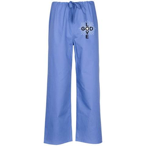 Love God Scrub Pant