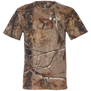 Go Explore Short Sleeve Camouflage T-Shirt - Shop Love God