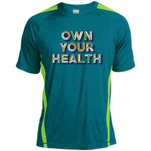Own Your Health II Colorblock Dry Zone Crew
