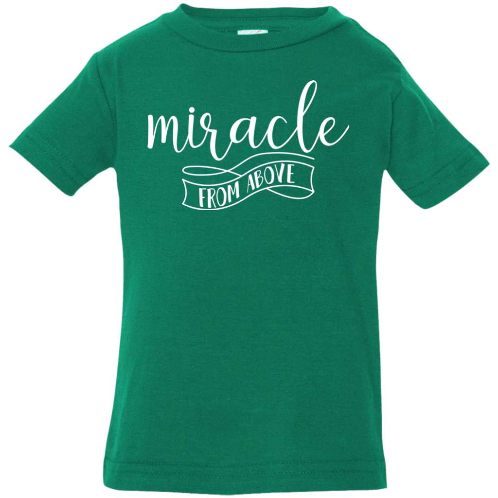 Miracle From Above Infant Jersey T-Shirt - Shop Love God